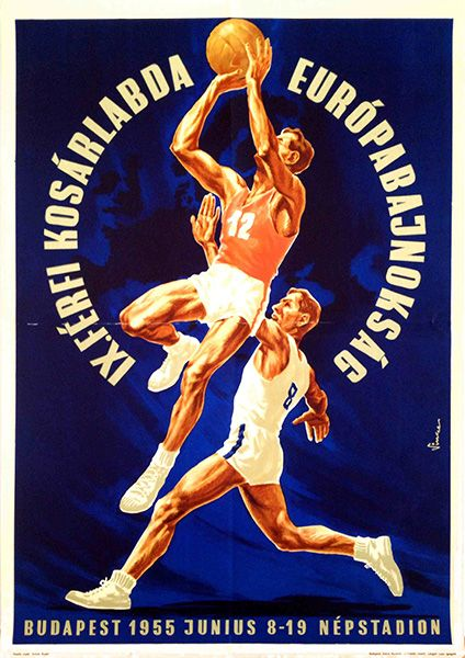 IX. Men's Basketball European Championship (Vincze Dénes, 1955)