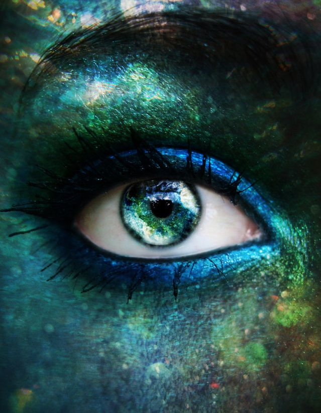 Eye of a mermaid perhaps