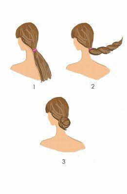 Aprenda a fazer um coque baixo para o verão -  Cabelo de verão: penteados de praia passo a passo