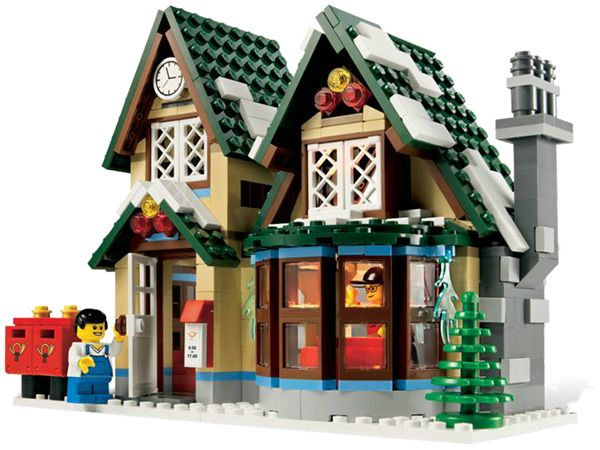 lego post office (so much more pleasant than the real one)
