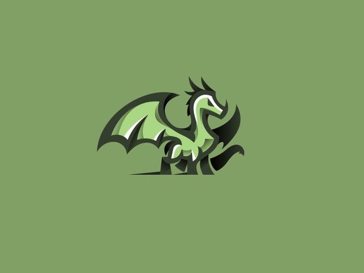 Dragon by Daniel Bodea #Design Popular #Dribbble #shots