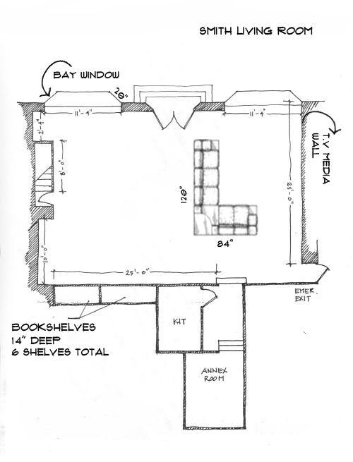 Mesure My Room Sketch Example