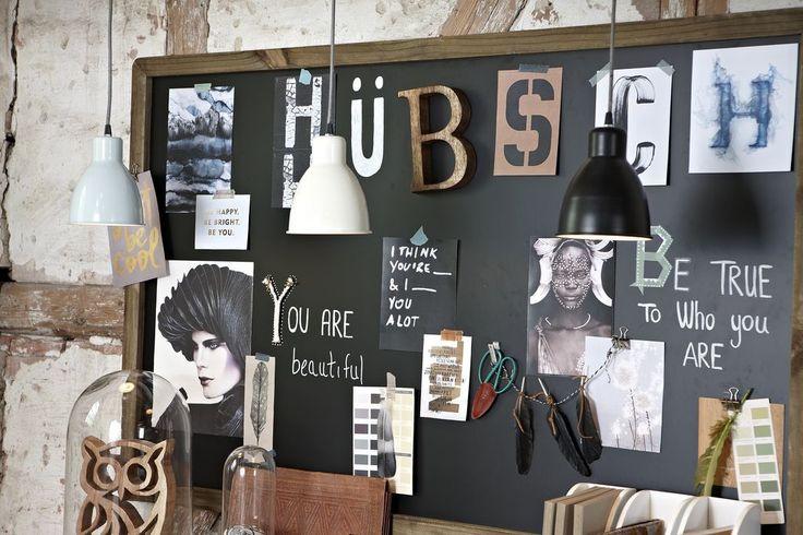 Hübsch / Dekorativní tabule Wood 160x100