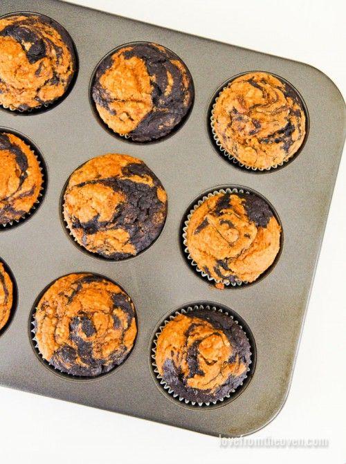 Chocolate Pumpkin Muffin