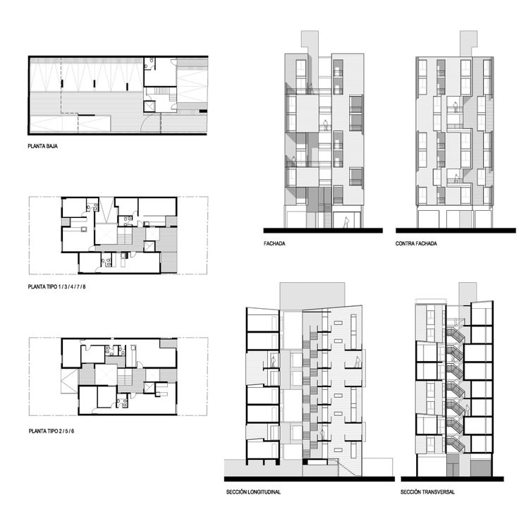 98 best Residential Building Plans images on Pinterest ...