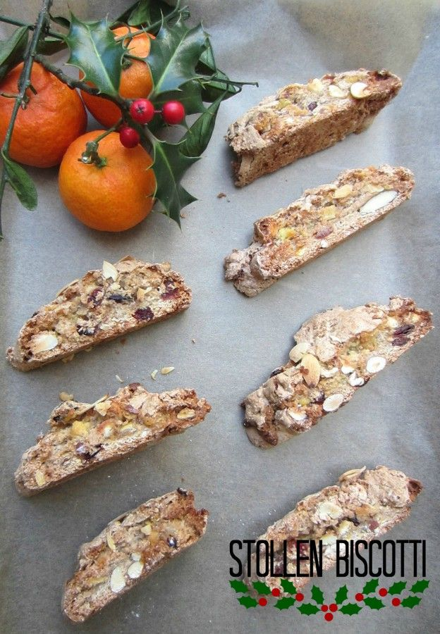 Love Stollen, but want something a bit different? Try Stollen Biscotti. | Patisserie Makes Perfect