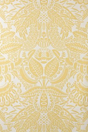love this wallpaper by farrow & ball.