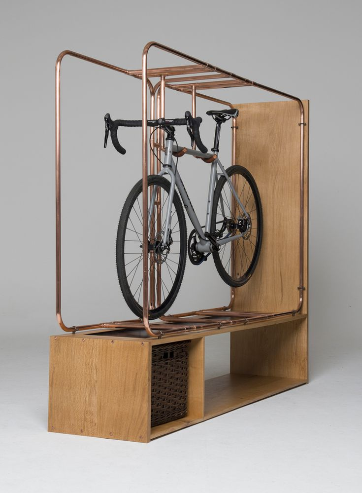 STASIS: Bespoke Bicycle Storage by Method Studio