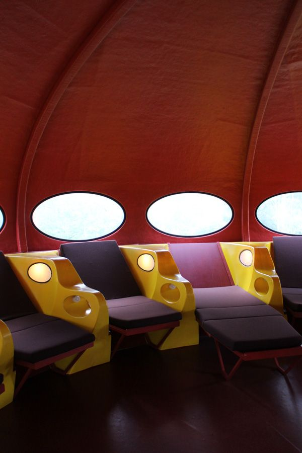 Trip to the south Finland. Futuro in Espoo Museum of Modern Art.
