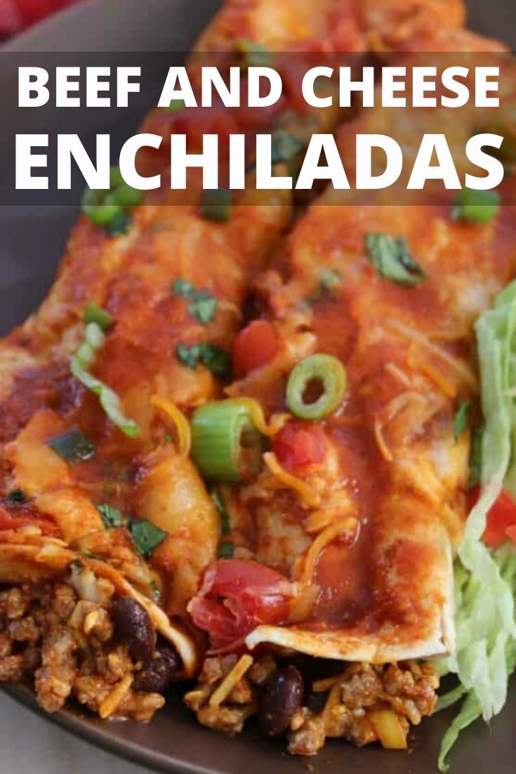 Beef Enchiladas Bake In 2020 Beef And Bean Enchilada Recipe Beef Enchilada Recipe Mexican Food Recipes Authentic