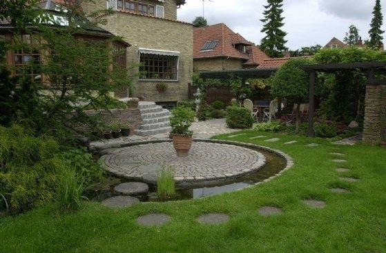 spejlbassiner | springvand og kanaler i haven