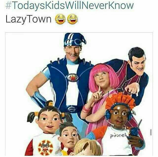 Today's kids will never know how lit this show was