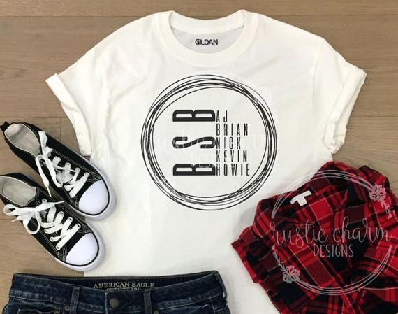 Backstreet Boys SVG || BSB SVG | Concert shirts ...