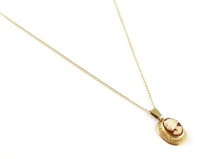 VNR:10946** Halskedja pansar m. hänge i 18K guld - 1,3g på Tradera.  Gratulera din mamma på Mors dag med ett fint halsband i guld!