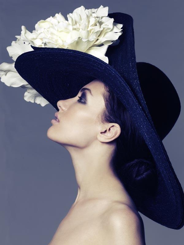 An Elizabeth Parker chapeau! woman hat. More