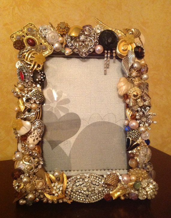 Completely new 114 best ♡ Jeweled Frames ♡ images on Pinterest | Picture frame  TP91