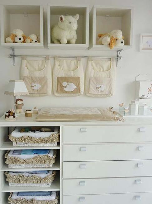 colocação de mobiliário e decoração de berçário ideias