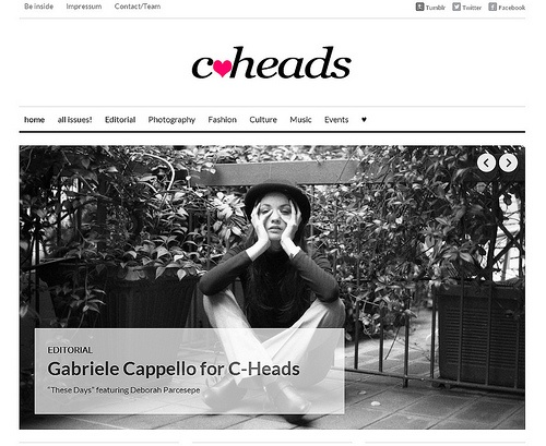 """""""These Days"""" for C-Heads Magazine"""