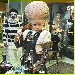 Mad Scientist/Big Brain costume!