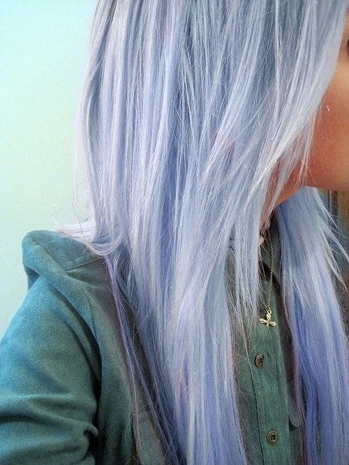 I wish I was brave enough to do this :/ if I were to pick a crazy color to dye my hair, this would definitely be it!