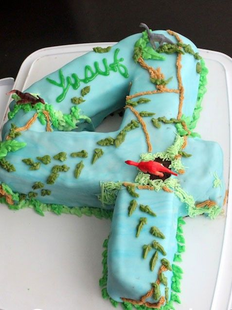 Childrens Dinosaur Cake Recipe