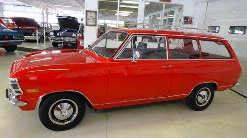 1970 Opel Kadett L 2-Door Wagon