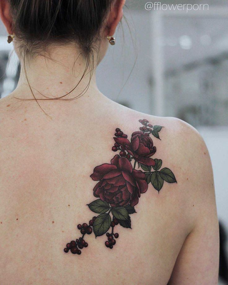 ideas about Flower Tattoos On Shoulder Tattoo