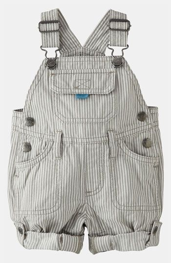 Mini Boden 'Everyday' Overalls (Infant) available at #Nordstrom