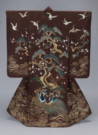 19th century uchikake