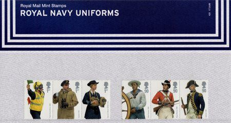Royal Navy Uniforms (2009) : Collect GB Stamps