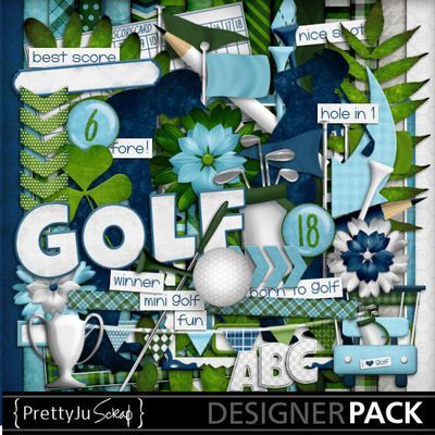 Born to golf kit