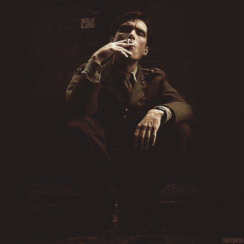 Smoking is terrible for you, but watching Murphy smoke (in an army uniform, no less) is good for the soul.