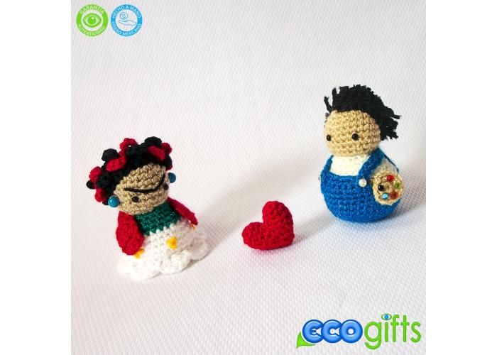 "ecogifts: Paquete de ""Frida y Diego"" - Kichink"