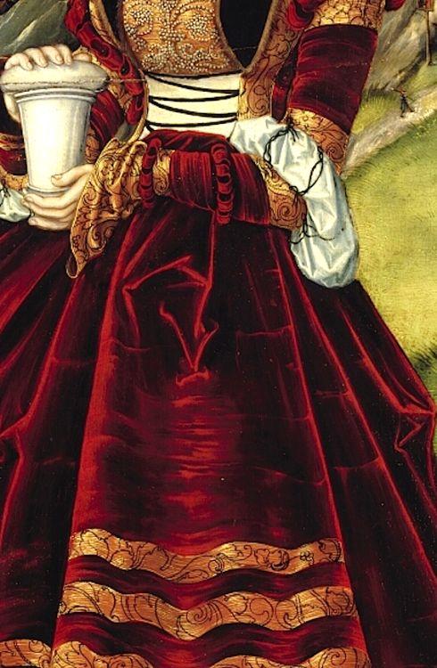 47 best cranach gown images on Pinterest | 16th century, Deutsch and ...