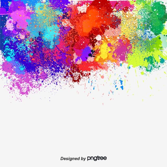 Graffiti Vector Background Gorgeous Watercolor Vector Paint