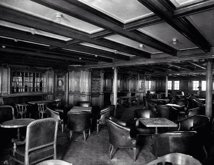 Sala fumatori della seconda classe (Titanic)