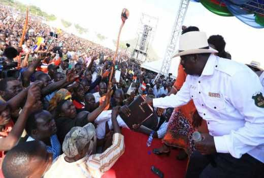 NASA UK Supporters travel to attend Raila oath :: Kenya - The Standard