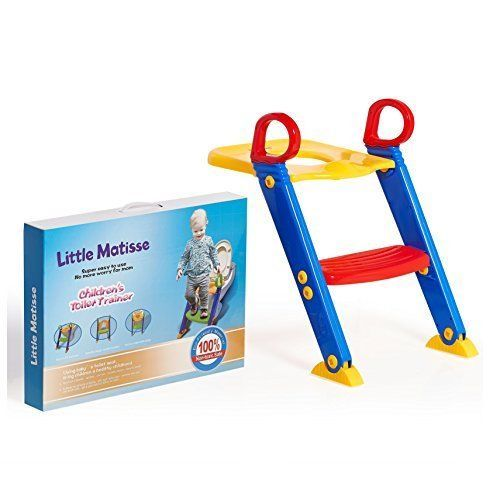 Plastic Portable Baby Training Toilet Seat red original. #LittleMatisse