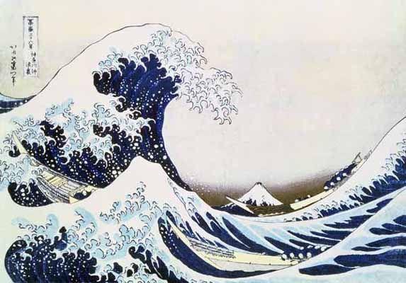Great Wave by Katsushika Hokusai for Sale - New Zealand Art Prints