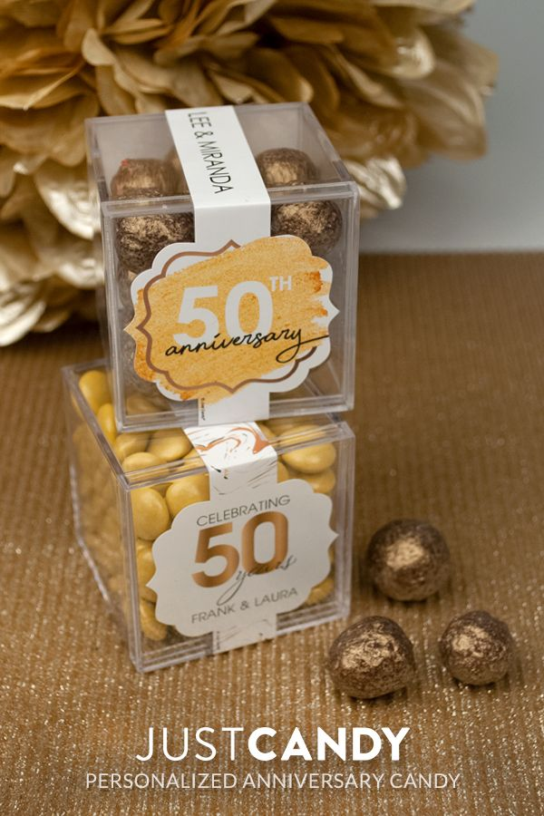 Anniversary Candy Cubes Anniversary Party Favors 40th Anniversary Party Anniversary Parties