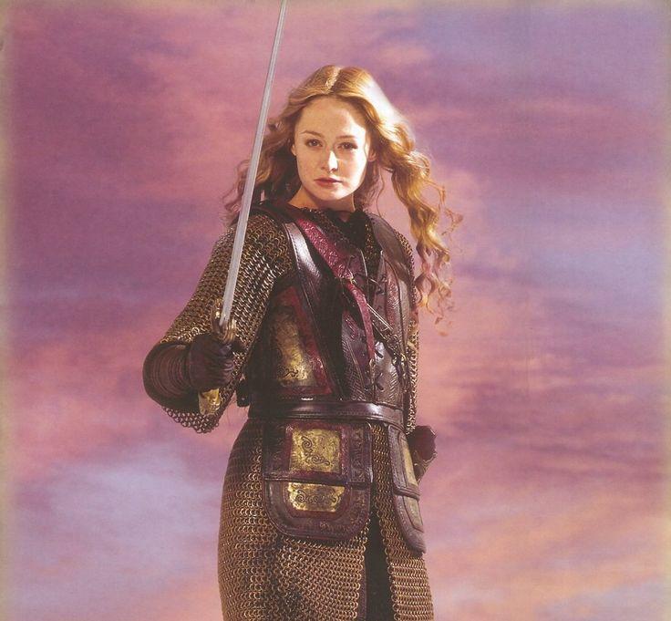"""Miranda Otto as Eowyn """"I am no man"""" in Lord of the Rings. #Eowyn #LOTR #Fantasy"""
