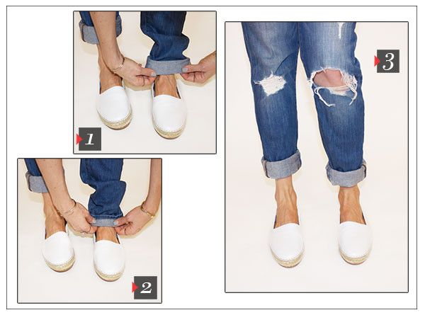How to get the perfect jean roll