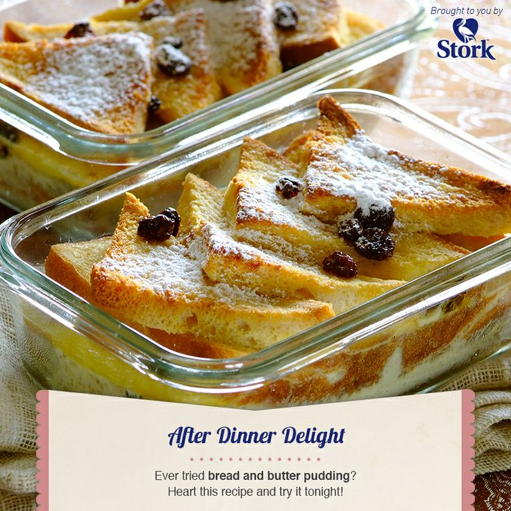 Bread and Butter Pudding #recipe