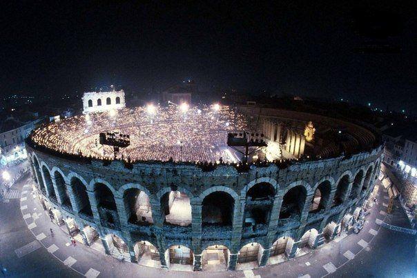 Арена ди Верона, Верона, Италия