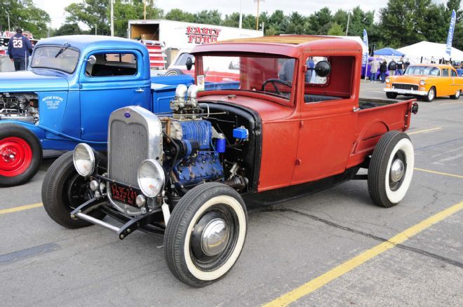 Thousands Of Hot Rods Roll Into Nsra Kalamazoo Hot Rods Ford