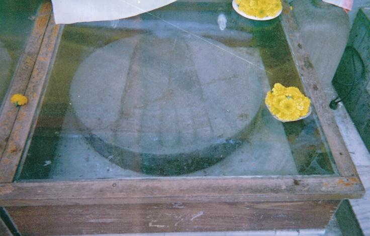 Impronta del Buddha - India