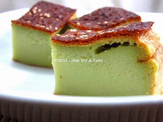 Just Try & Taste: Bingka Pandan: Lembut dan Harum
