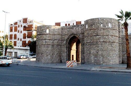 Old Jeddah.  Saudi Arabia