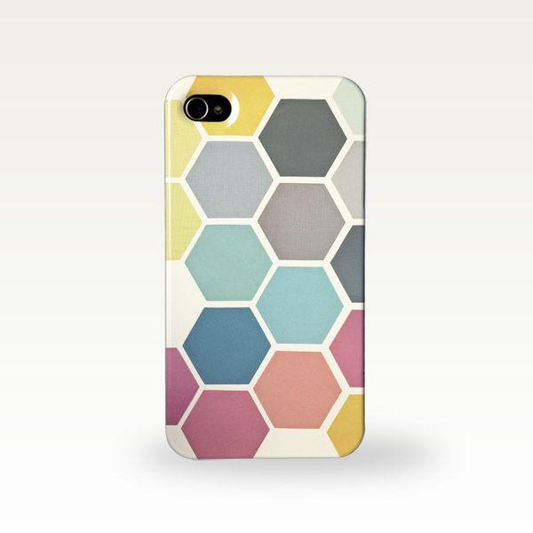 étui de téléphone Géométrique - iPhone, Samsung de Cassia Beck Collage sur DaWanda.com