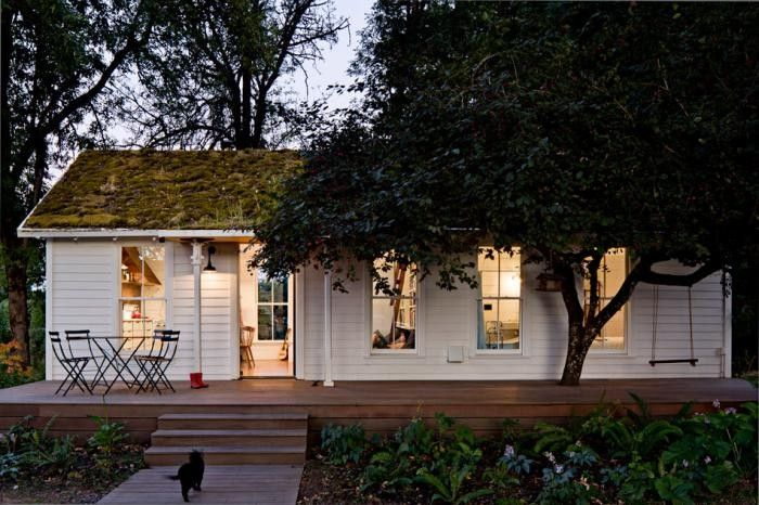 Cottage Visit Living In 540 Square Feet In Portlandia